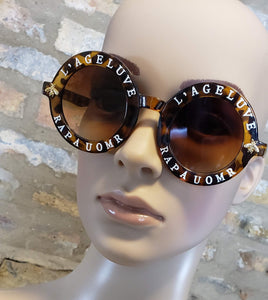 L' Ageluve Sunnies (Brown)