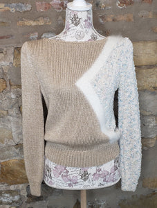 Nannell Tan Vintage Sweater Sz M