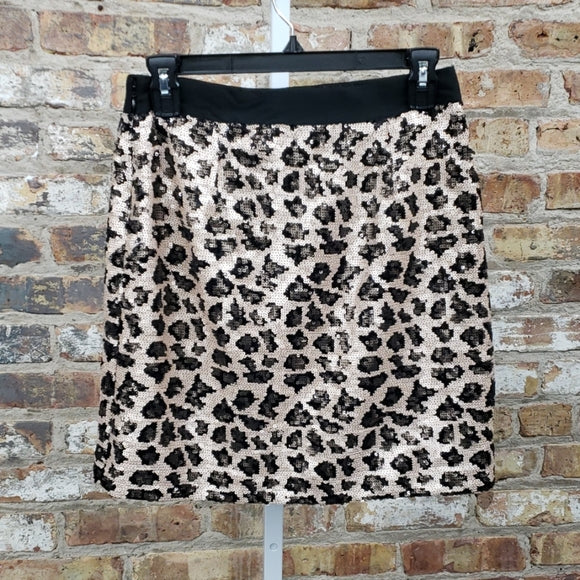 Banana Republic Sequin Skirt Sz 0