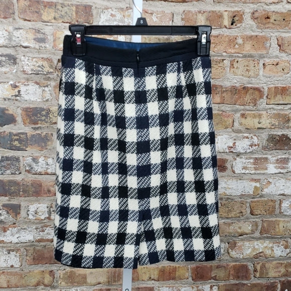 Milly of New York Plaid Skirt Sz 4
