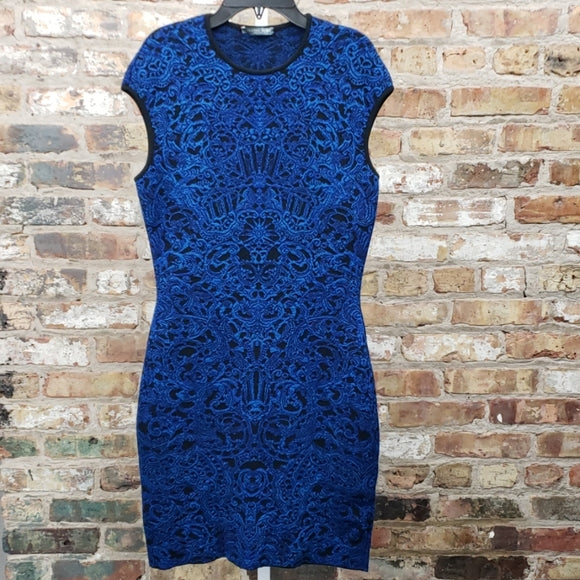 Alexander McQueen Bodycon Dress Sz L