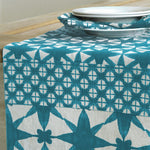 Ren Patch Blue Table Runner