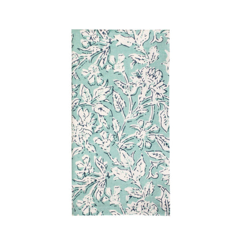 Leila Floral Mint Napkin - Set of 4