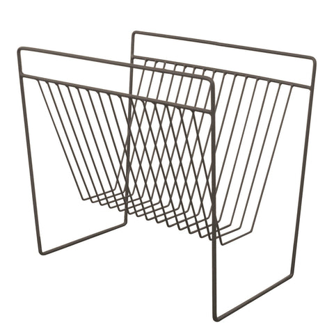 Spencer Zinc Magazine Holder