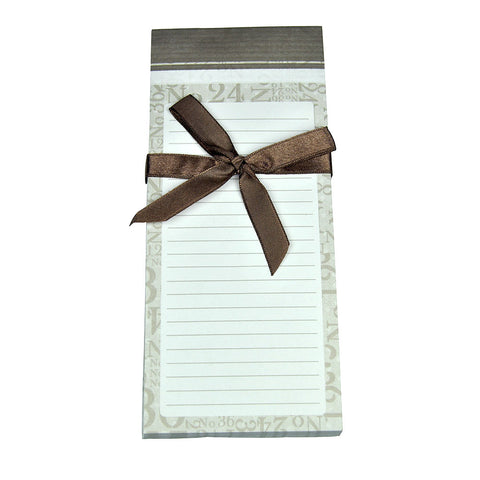 Shopping List Pad - Numbers