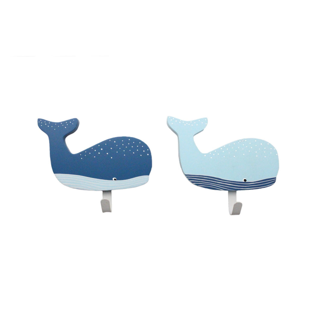 Whale Hook Assorted - Set Of 2