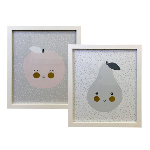 Fruit Artwork - Set of 2