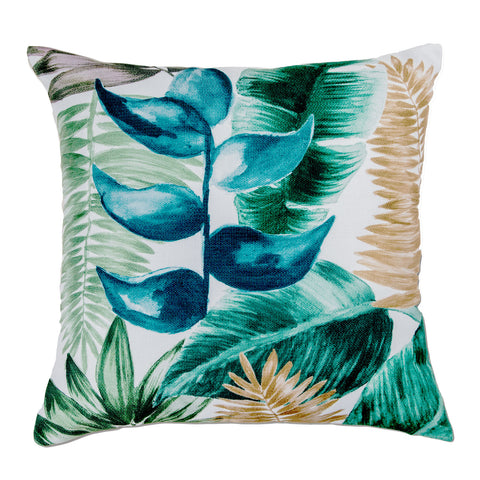 Hawaii Cushion - Green/Ochre