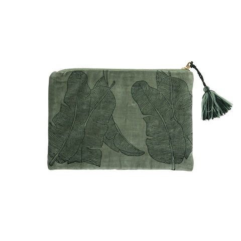 Jungle Block Print iPad Case