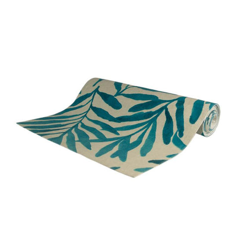 Palm Springs Teal Table Runner