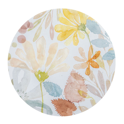 Windflower Round Placemat - Set of 4