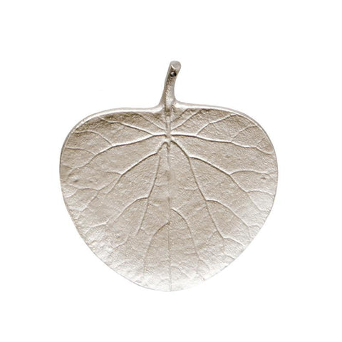 Gum Leaf Silver Ornament Dish