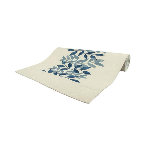 Bramble Blue Table Runner