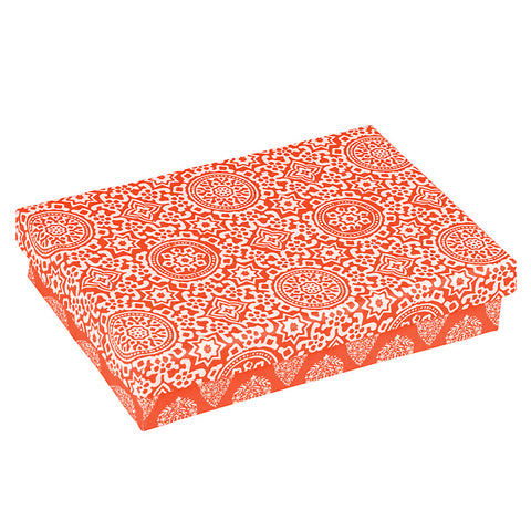 Jaipur Orange Gift Box and Cards