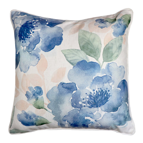 Gardenia Blue/Green Cushion