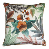 Succulent Velvet Orange/Green Cushion