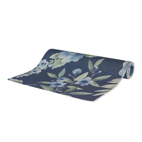 Camilla Dark Blue Table Runner