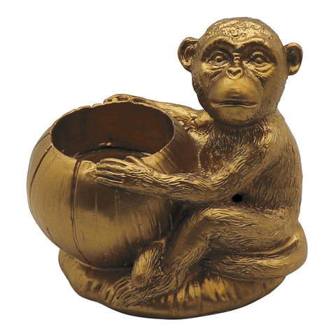 Sitting Monkey Tealight Holder