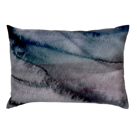 Desert Blue/Charcoal Cushion 40x60cm