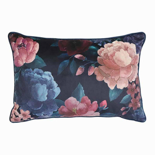 Madras Link Eclipse Rose Printed Cushion