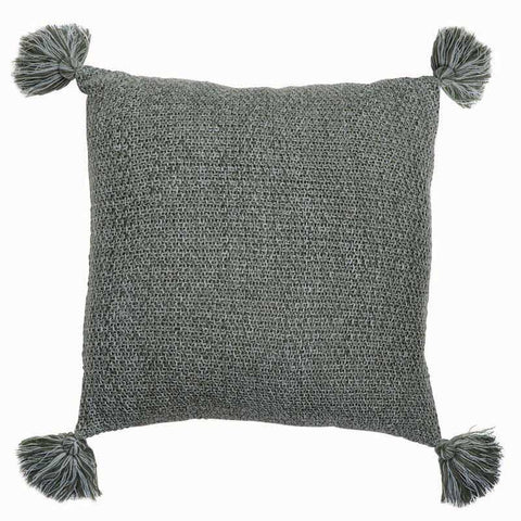 Wesley Green Knitted Cushion
