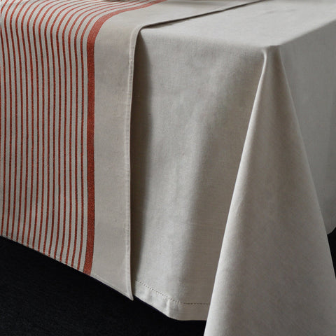 Clary Stripe Clay Table Runner