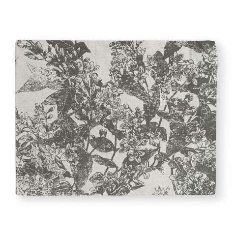 Adelaide Charcoal Placemat - Set Of 4