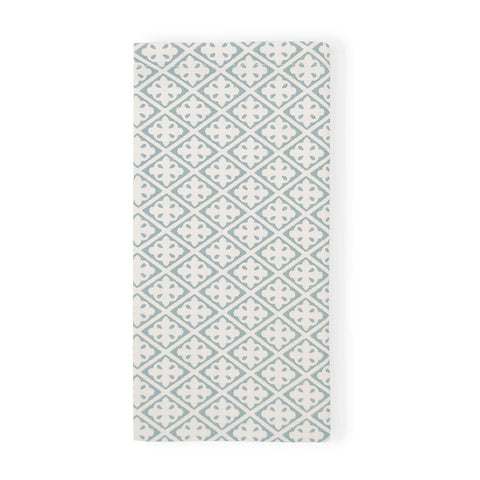Eden Block Print Cloud Napkin - Set Of 4