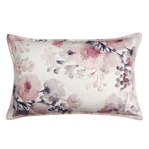 Pansy Lumbar Cushion - Pink