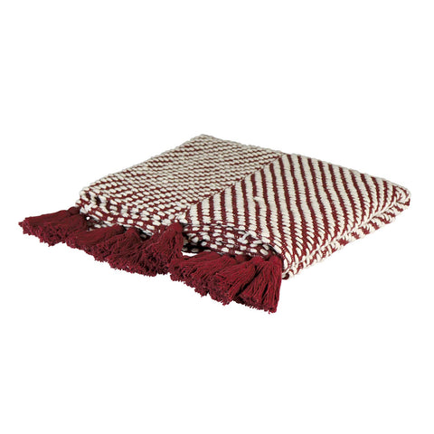 Oakleigh Throw - Red
