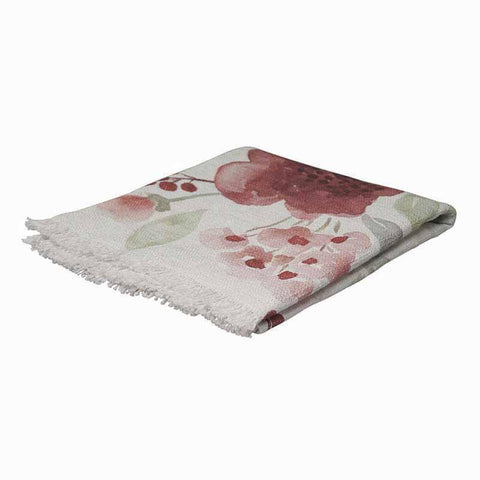 Country Style Evelyn Floral Throw