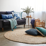 Oakleigh Throw - Teal