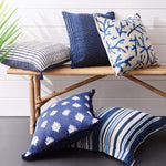 Sorrento Blue Stripe Cushion