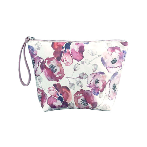 Poppy Pink Toiletry Bag - Small