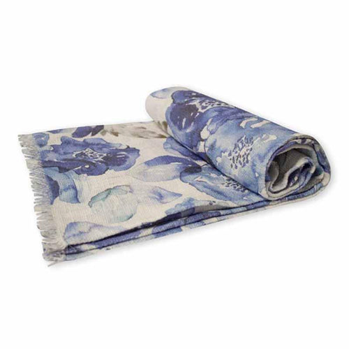 Madras Link Printed Bloom Throw