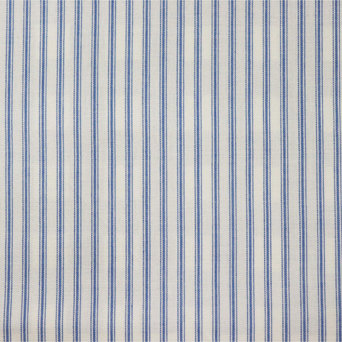 Ticking Stripe Fabric - Cornflower