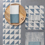 Trinidad Washed Blue Table Runner