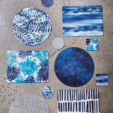 Waves Rectangle Placemats - Set of 4