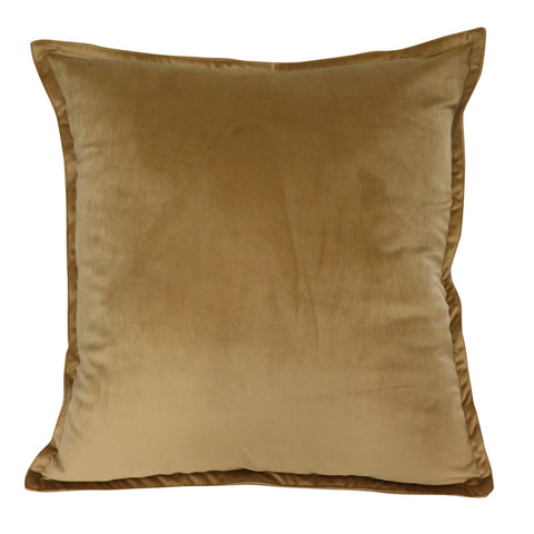 Velvet Cushion - Wheat