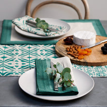 Load image into Gallery viewer, Taro Mineral Green Placemat - Set of 4