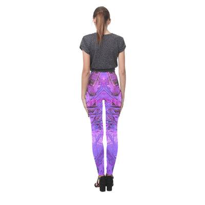 Picasso Push Leggings in Purple Actavis