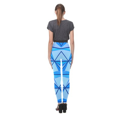 Crystal Push Leggings in Carolina
