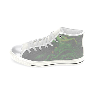Saunter High Top Canvas Sneaker in Spring Green