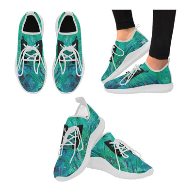 Picasso Bolt Trainer in Aqua Paradise
