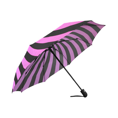 Wonderland Automatic Folding Umbrella in Fuschia