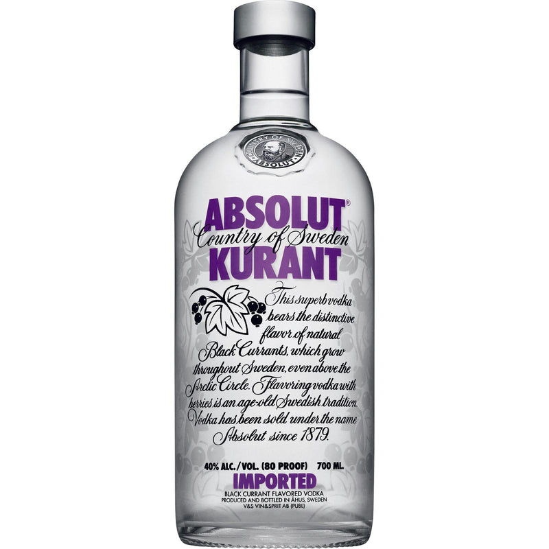 Absolut Kurant Vodka 750ml/40%