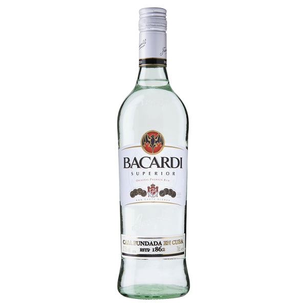 Bacardi Superior White Rum 700ml/37.5%