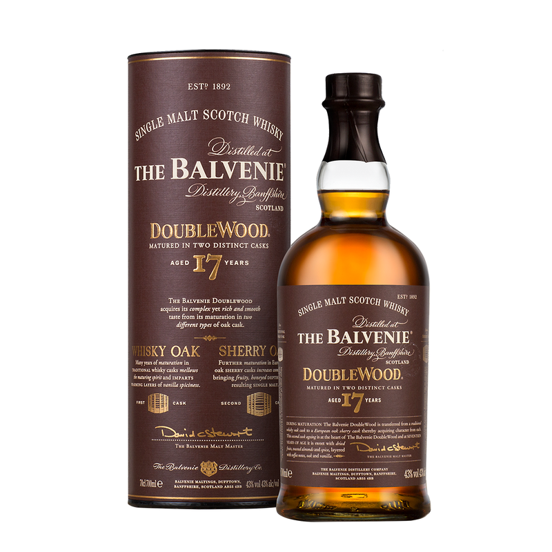 Balvenie 17 Year Old Doublewood 700ml/43%
