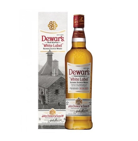 Dewar's White Label Blended Whisky 750ml/40%