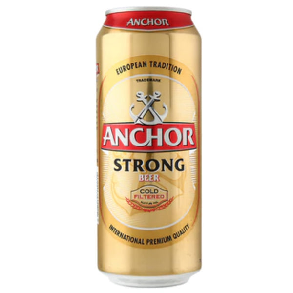 Anchor Strong Beer 7.2% 24x490ml cans